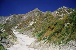 Firn_in_Mount_Shirouma_1996-09-28