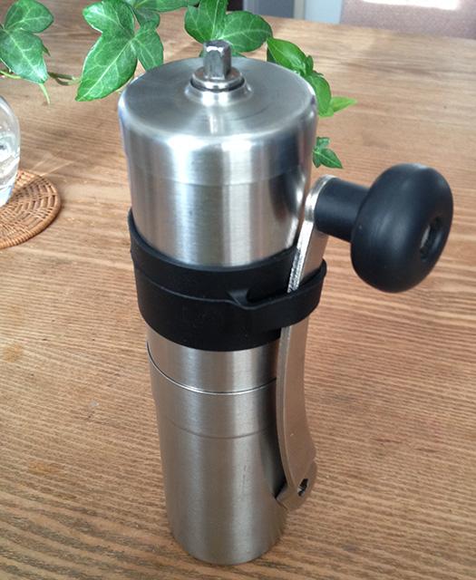 ポーレックス コーヒーミルのハンドルホルダー