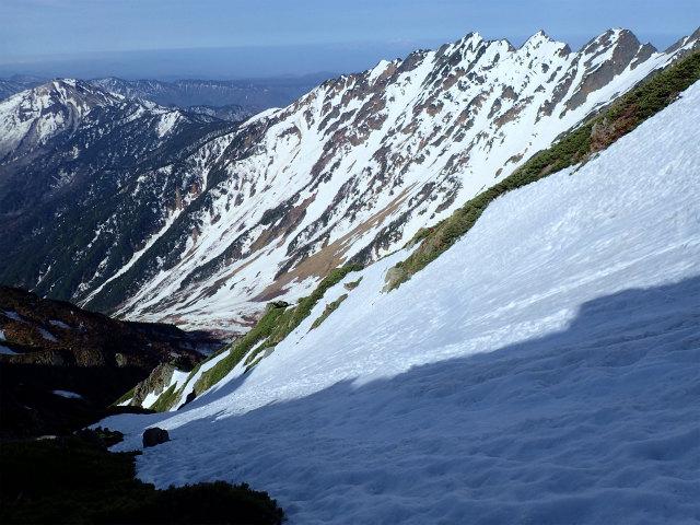 GW合宿は残雪期の奥明神沢~前穂高岳へ(1日目)