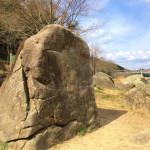 初の京都笠置でボルダリング