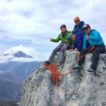 絶景の鳳凰三山とオベリスク登攀 ホッコリ合宿