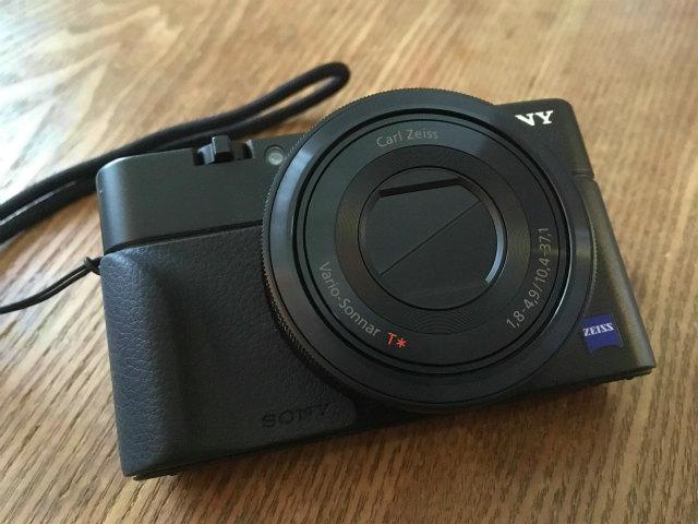 カメラ初心者 SONY RX100で山の写真を